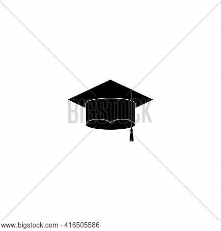 Illustration Vector Graphic Of Graduation Toga Hat Logo