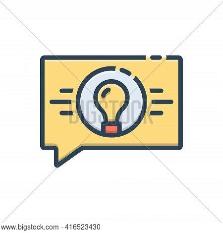 Color Illustration Icon For Strategic-consultancy Consultancy Martial Service Strategic