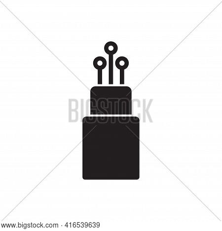Fiber Optic Cable Icon Vector For Graphic Design, Logo, Web Site, Social Media, Mobile App, Ui Illus