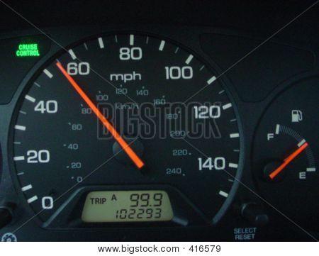 Speedometer 55 Mph