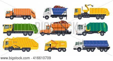 Dump Trucks, Loaders Or Dumpers And Haul Lorries