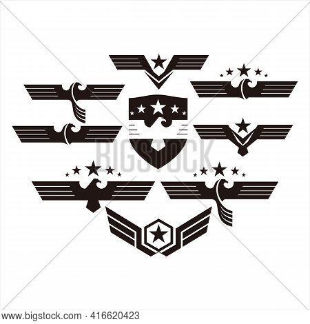 Eagle Icon, Icon Isolated On Transparent Background Eagle Icon Wings Eagle Vector Eagle Icon Head De
