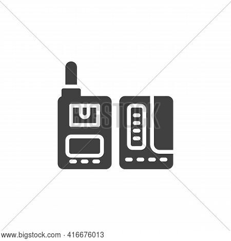 Photo Trigger Vector Icon. Filled Flat Sign For Mobile Concept And Web Design. Photographic Lighting