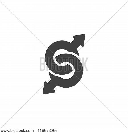 Homosexual Gender Vector Icon. Filled Flat Sign For Mobile Concept And Web Design. Homosexual Sexual