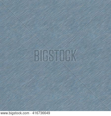 Brushed Metal Background Texture. Metallic Steel Plate. Sheet Metal  Silver Blue. Seamless Texture