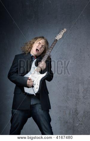 Screaming Rock Star