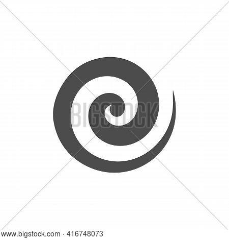Illustration Vector Design Graphic Of Logo Spiral