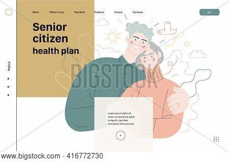 Medical Insurance Template - Senior Citizen Health Plan