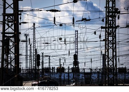 Railways Transportartion. Railway Transport. Global And International Freight Transportation Industr