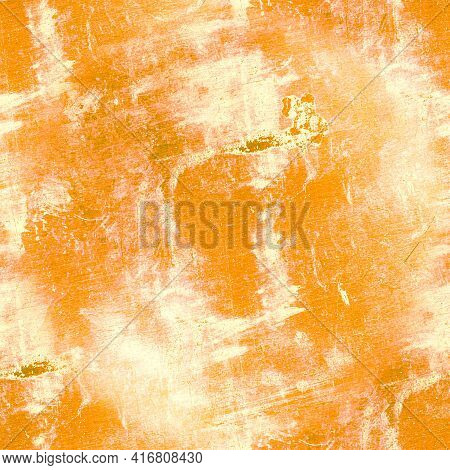 Grungy Abstract Dirty Texture. Art Paint Stone Design. Vintage Crack Stamp. Retro Grain Illustration
