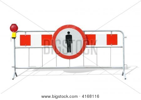 Road Construction Barrier
