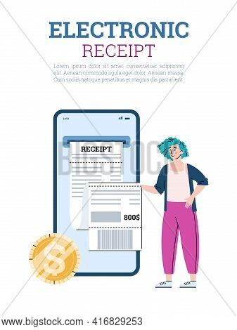 Web App For Electronic Digital Bill And Online Payments Of Electronic Receipts