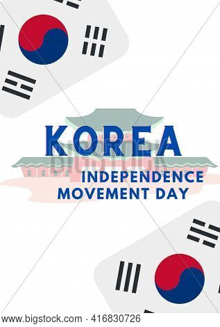 Korea Independence Movement Day, 1th March Korea Happy Independence Movement Day