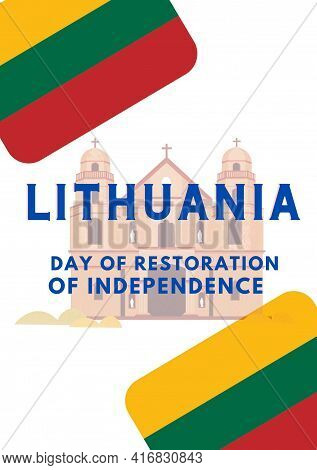 Lithuania Day Of Restoration Of Independence, 11th March Lithuania Happy Day Of Restoration Of Indep