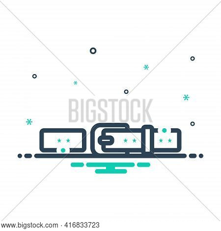 Mix Icon For Belt Buckle Waistband Garment
