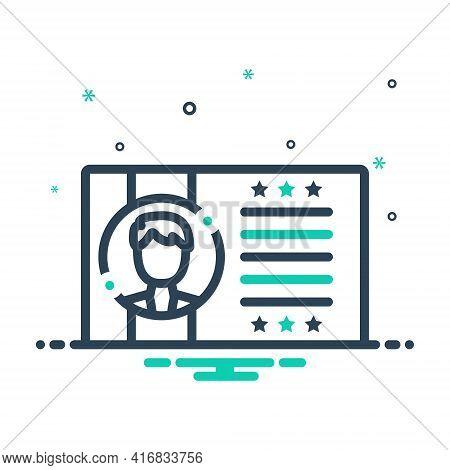 Mix Icon For Customer-profile  Customer Profile  Identification License