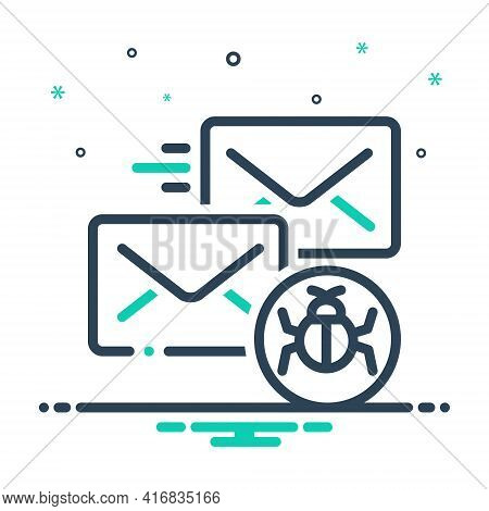 Mix Icon For Infected-mail Infected Mail Malware Protection Vulnerability