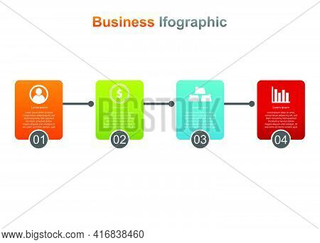 Business Infograpic Design Template. Vector Infographic. Good For Marketing, Promotion, Presentation