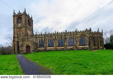 The Parish Church Of St. Mary The Virgin In Mold, Flintshire
