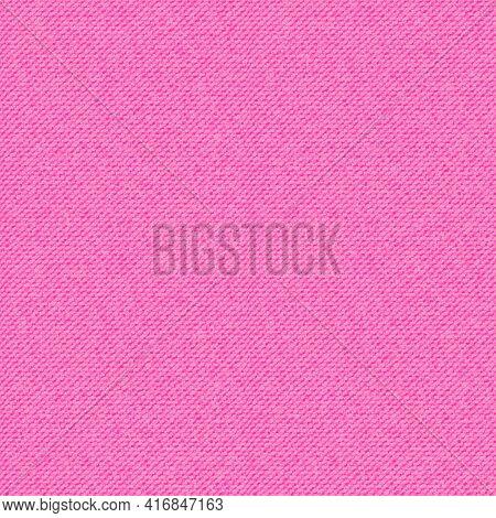 Pink Jeans Denim Seamless Pattern. Light Jeans Texture. Realistic Vector Illustration.