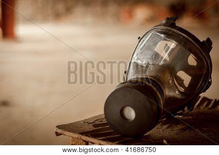 Modern Gasmask In A Room