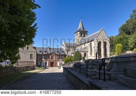 The Graville Abbey, Also Known As Sainte-honorine Abbey, Was Founded In The 11th Century. It Is Loca