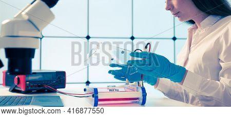 Loading Samples and Running an Agarose Gel for electrophoresis, Gel electrophoresis is the standard lab procedure for separating DNA