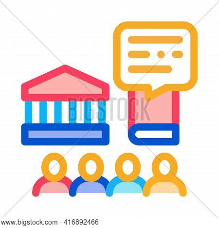 Control Policy Color Icon Vector. Control Policy Sign. Isolated Symbol Illustration