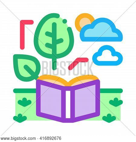 Ecology Researcher Color Icon Vector. Ecology Researcher Sign. Isolated Symbol Illustration