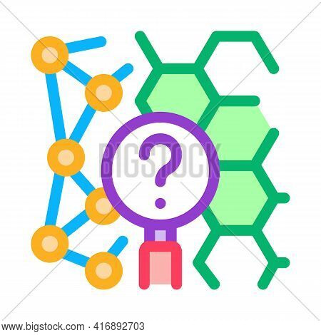 Chemical Researcher Color Icon Vector. Chemical Researcher Sign. Isolated Symbol Illustration