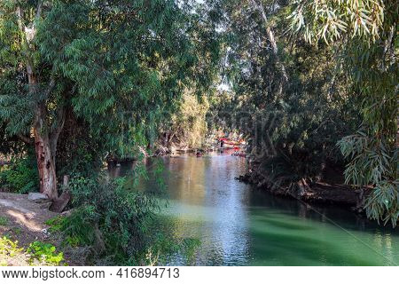 The Jordan River is the most famous river in the world. Jordan in Yardenit, where Christian pilgrims usually dive into the river. Jesus Christ was baptized in the Jordan River from John the Baptist.