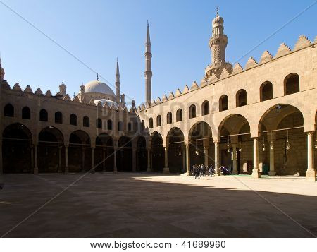 Mosque Al Naser in Cairo