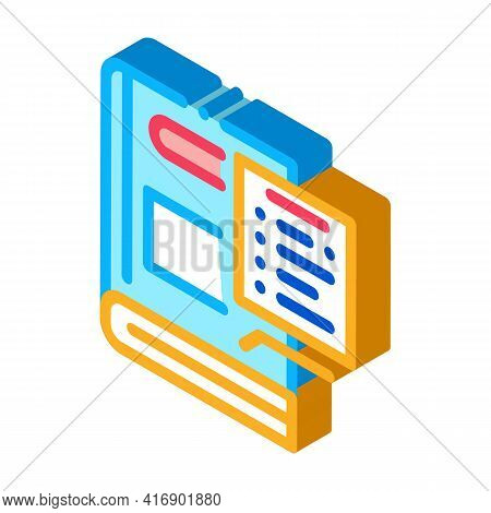 Regulations Policy Color Icon Vector. Isometric Regulations Policy Sign. Color Isolated Symbol Illus