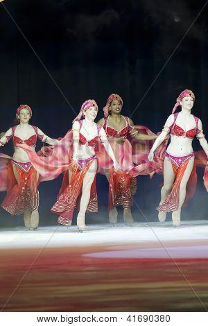 Aladdin Skaters In Red