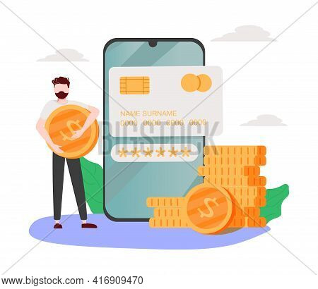Website Information Page Abstract Concept Vector Illustration. Fees And Funding, Terms And Condition
