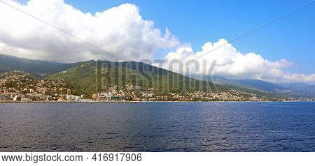 Town Of Bastia In Corsica Island In Europe