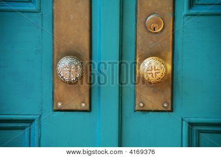 Turquois Doors