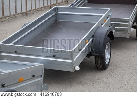 Car Open Trailer.sale And Rental Of Car Trailers.