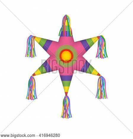 Cinco De Mayo Elements Mexican Star Shaped Pinata