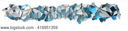 Fantastic Abstract Modern Panorama Background Design Object