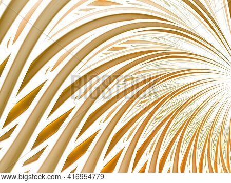 Abstract Curve Background. Wavy Lines Set, Dinamic Design Element, Blend Waves, Smooth Curves, Wavef