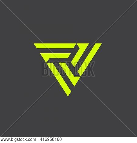 Triple F Symbol Letter Based Vector For Brand, Corporate Identity, Design Element, Or Any Other Purp