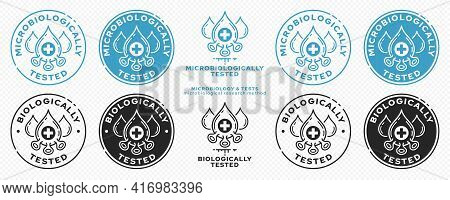 Concept For Product Packaging. Marking - Microbiologically And Biologically Protected. Micromolecule