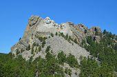Mount Rushmore at South Dakota, United States poster