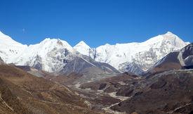 Island Peak (imja Tse) - Popular Climbing Mountain In Nepal, Himalayas