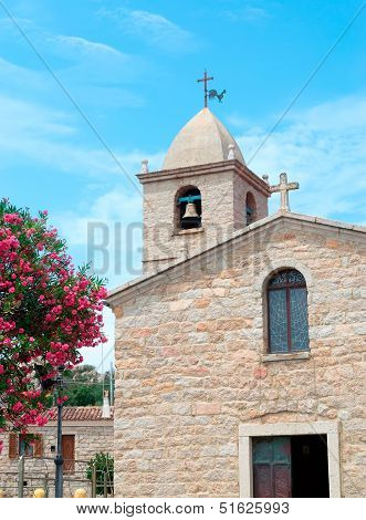Church In San Pantaleo