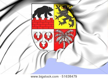 Anhalt-bitterfeld Coat Of Arms, Germany.
