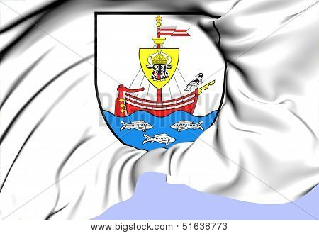 Wismar Coat Of Arms, Germany.