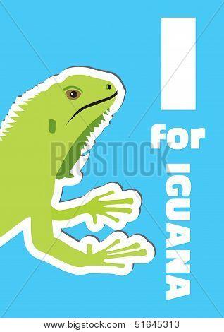 I For Iguana, An Animal Alphabet For The Kids