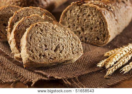 Fresh Homemade Whole Wheat Bread
